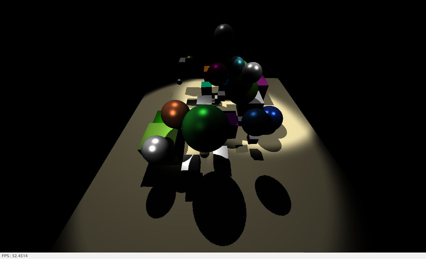 Implémentation du shadowmapping sur shaders (GLSL) sans antialiasing